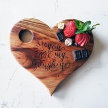 You are my Sunshine Heart Board